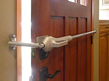 Amazon.com: LineBacker Home Door Security Bar-High Security Door ...