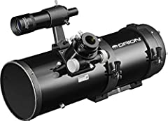 Our 6 inch aperture imaging reflector is loaded with useful features useful features to help you capture high-resolution images of the night sky. With very fast f/4 optics and 94% reflectivity coatings, the Orion 6 inch Newtonian Astrograph w...
