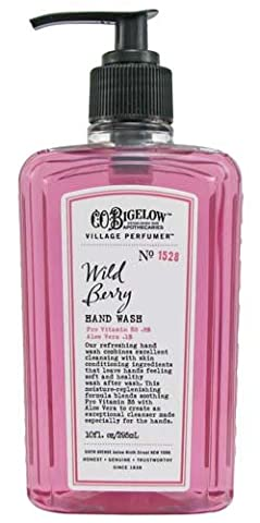 Bath & Body Works C.O. Bigelow No. 1528 Wild Berry Hand Wash 10 fl oz (295 ml) (Co Bigelow Hand Lotion)