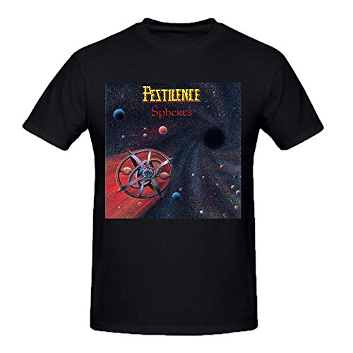 - Pestilence Spheres Funny Tee Shirts For Men Black