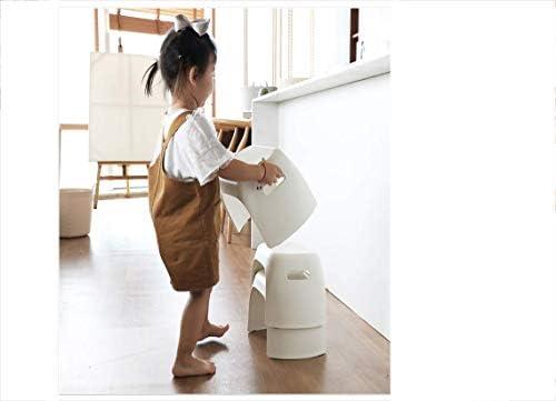 YXDEW Épaissie Tabouret antidérapants Tabouret Enfant bébé en Plastique Repose-Pieds Accueil Changer Chaussures Tabouret 21.5 * 32 * 25.5 * 21.7cm Chaise