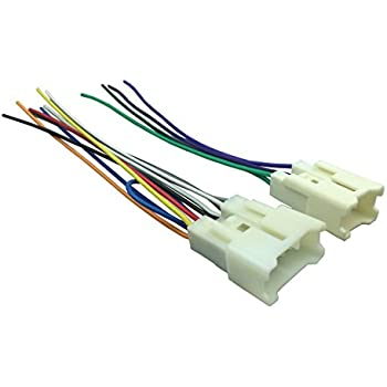 41 Jxfojf L._SL500_AC_SS350_ amazon com scosche ta02b wire harness to connect an aftermarket Scosche Wiring Harness Color Code at fashall.co