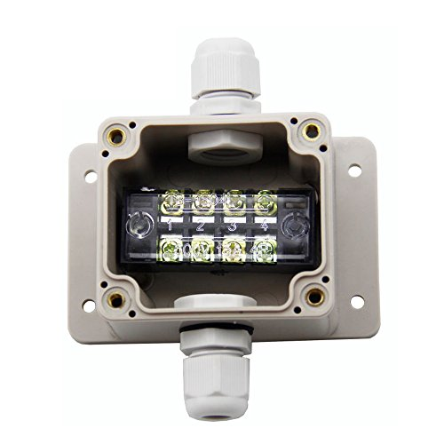 Cable Gland Conector de montaje en pared proyecto de derivación caja impermeable plástico eléctrico caja 63 x 58 x 45 mm,...