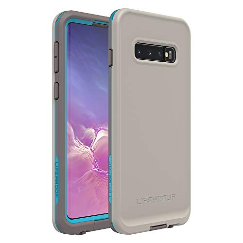 Price comparison product image Lifeproof FRE Series Waterproof Case for Galaxy S10 - Retail Packaging - Body SURF (Cement / Gargoyle / Hawaiian Ocean)
