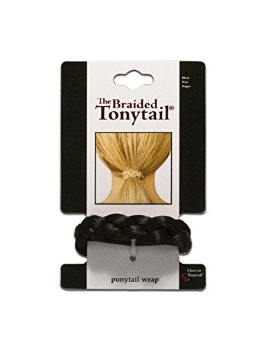 Mia Beauty Braided Tonytail Black product image