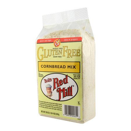 Bob's Red Mill Gluten Free Cornbread Mix, 20 Oz (Pack of 4)