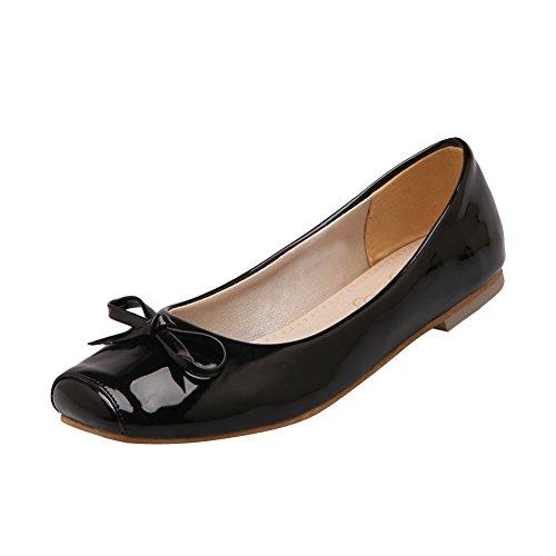 Slip-on-slip Con Punta Piatta Per Donna Latasa Fashion Nero
