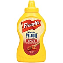 French's, Classic Yellow Flavored Mustard, 14oz Bottle (Pack of 2) (Choose Flavors Below) (Spicy)