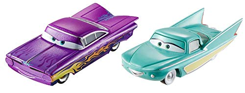 Disney Cars 1 - Disney Pixar Cars Character Ramone Purple & Flo Vehicle, 2 Pack