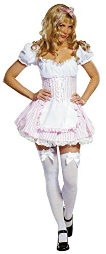 Cinema Halloween Party (Cinema Secrets Womens Medical Candy Striper Theme Party Fancy Halloween Costume, S)