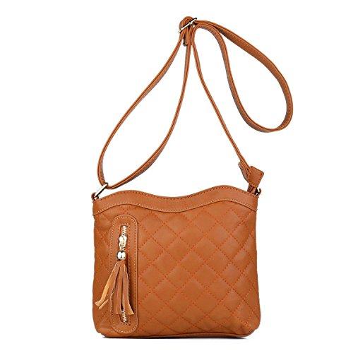 Checkered Brown Bag - 7
