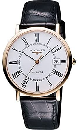 2d2389babfd Image Unavailable. Image not available for. Color: Longines L47878110 Presence  Automatic Mens Watch - White Dial