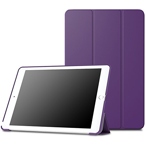 MoKo Case Fit iPad Pro 9.7 - Slim Lightweight Smart Shell Stand Cover Case with Auto Wake/Sleep Fit Apple iPad Pro 9.7 Inch 2016 Release Tablet (Not fit New iPad 9.7 Inch 2017 Version), Purple