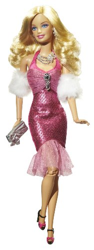 Barbie Fashionistas Glam Doll