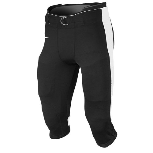 NIKE Adult Open Field Football Pant Black with White Stripe XXL