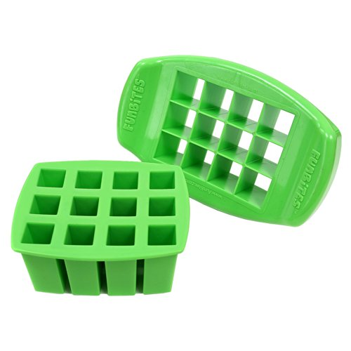 FunBites Shaped Cutter Green Square product image