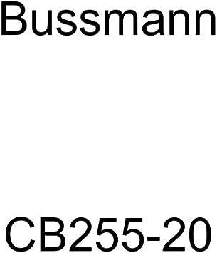 1 Pack Bussmann CB255-30 Weatherproof Marine Rated High Amp Type III Panel Mount Circuit Breaker 25 Amp