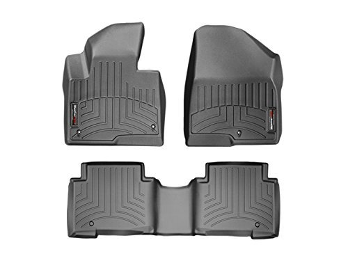 44440 1 3 floorliner front rear black