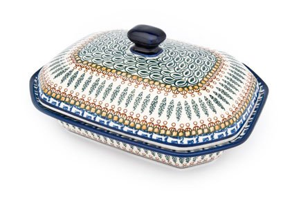 Polish Pottery Tuscany Medium Covered Baking Dish by Ceramika Artystyczna