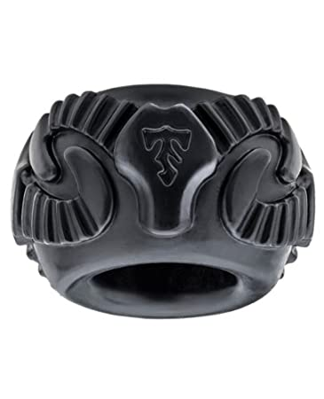 Amazon.com: Ajuste perfecto Tribal hijo RAM Ring – Negro ...