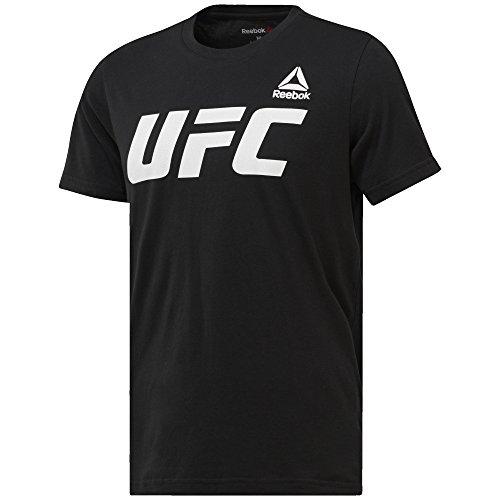 Reebok UFC FG Logo Tee–T-shirt, Homme