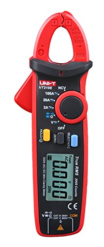 ZIBOO UNI-T ZB-UT210E Digital Clamp Meter Multimeter Handheld RMS AC/DC Mini Resistance Capacitance Tester