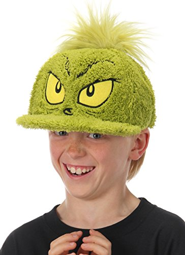 elope Dr. Seuss The Grinch Costume Fuzzy (The Grinch Halloween Costumes)