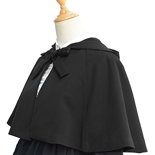 Smiling Angel Women's Halloween Costume Medieval Retro Cloak with -