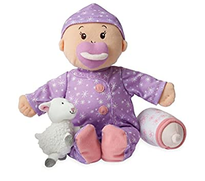 Manhattan Toy Baby Stella Sweet Dreams Soft Nurturing First Baby Doll | Educational Toys