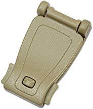 DYZD Multipurpose Molle Clip Molle Strap Attachments Tool Web Dominator Buckle for Tactical Bag, Backpack(Khak