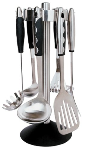 BergHOFF Soft Grip Deluxe 7-Piece Kitchen Utensil Set by Berghoff