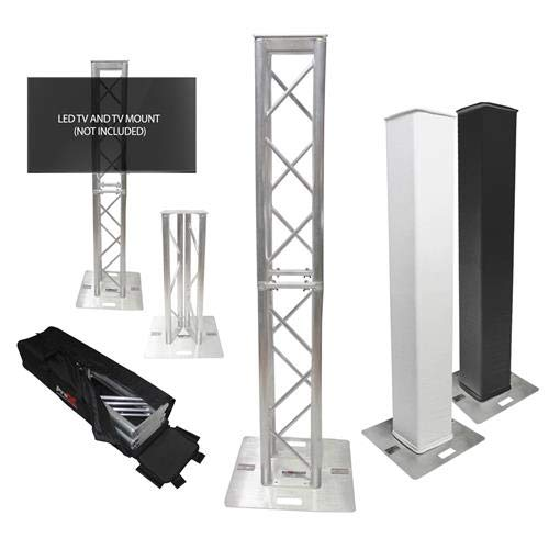 ProX XT-FTP328-656-B Flex Tower Totem Package w/carry ()