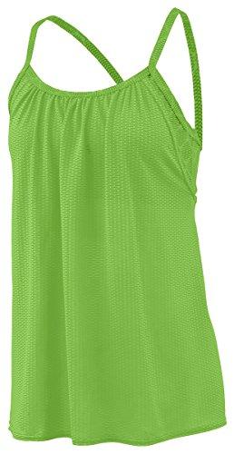 Augusta Sportwear - Camiseta de tirantes - para mujer LIME/LIME PLEXUS PRINT