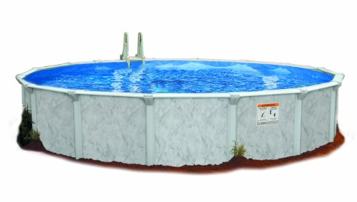 Embassy Pool 4-3000 PARA102 Above Ground Swimming Pool, 30-Feet by 52-Inch, Silver (Doughboy Above Ground Pool Liners)