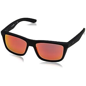 Arnette Mens Syndrome Sunglasses (AN4217) Black/Red Plastic - Non-Polarized - 57mm