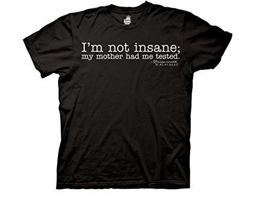 Ripple Big Bang Theory I'm Not Insane Mens Tee (Large)