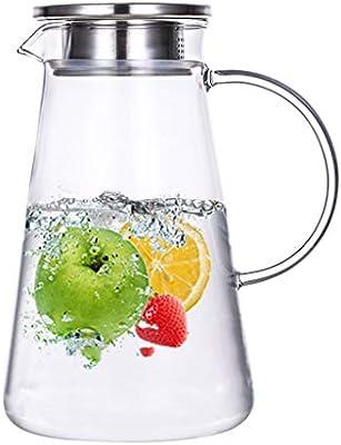 QFQ Botella de Agua de Vidrio de Alta Temperatura a Prueba de ...