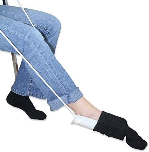 Sockenhilfe, Behinderte Hilfe Werkzeughilfe Socken Socken Hilfe, Socken anziehen Hilfe 1pcs