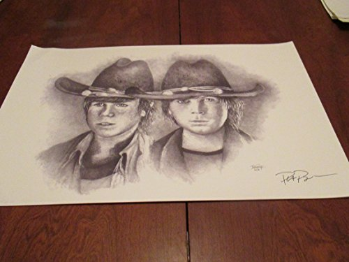 Grimes Chandler Riggs Carl Grimes of the Walking Dead Limited Edition Print Signed By