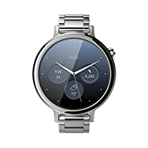 Motorola Moto 360 (2nd Gen.) - Womens 42mm, Silver with Silver Metal