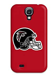New Style Tpu S4 Protective Case Cover/ Galaxy Case - Atlanta Falcons Helmet