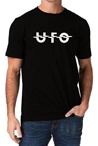 UFO Band Rock Music Metal Logo T-Shirt