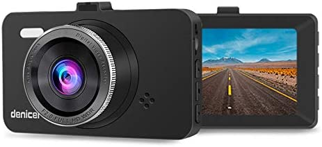 Dash Cam 3.0 LCD Full HD 1080p Car Dashboard Camera Recorder with 170 Wide Angle,Parking Monitor, Loop Recording, WDR, G-Sensor D704