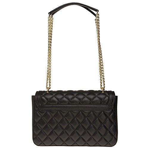 Noir Femme Quilted Love Moschino Handbag Noir Chain qXf6fn