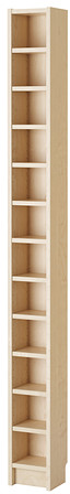 GNEDBY Shelf unit - birch veneer - IKEA