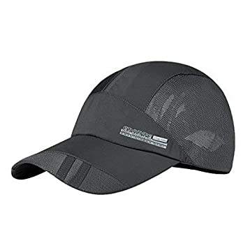 JINTN Mens boys Mesh Baseball Cap Quick Dry Cap Breathable Sports Hat  Outdoor Baseball Cap Unisex 3af1dd51b