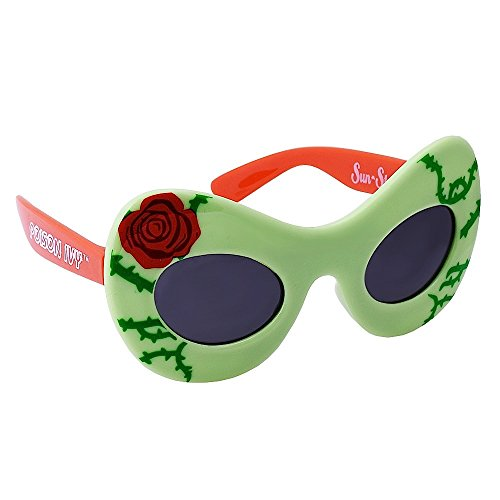 Sun-Staches Costume Sunglasses Lil Characters Poison Ivy Party Favors UV400