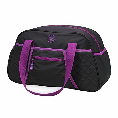 Gaiam Yoga Duffle Bag, Black