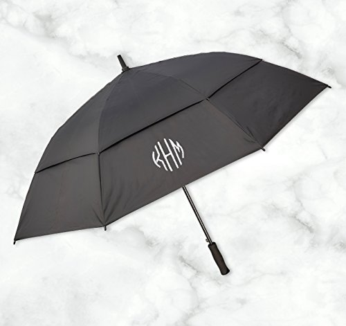 American Stationery Personalized Golf Umbrella - Embroidered Name - 3977