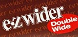4 PACKS OF EZ WIDER DOUBLE WIDE CIGARETTE ROLLING PAPERS,EZWIDER.